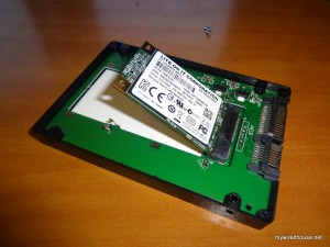 Easy way to fit a cheap msata SSD into your desktop PC or laptop