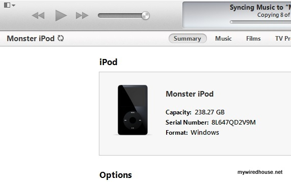 Yes, a 5.5 gen iPod with a 256G SSD inside it.  It all fits, using plug and play parts!