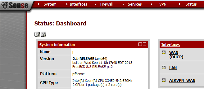 PfSense_2-1_Dashboard