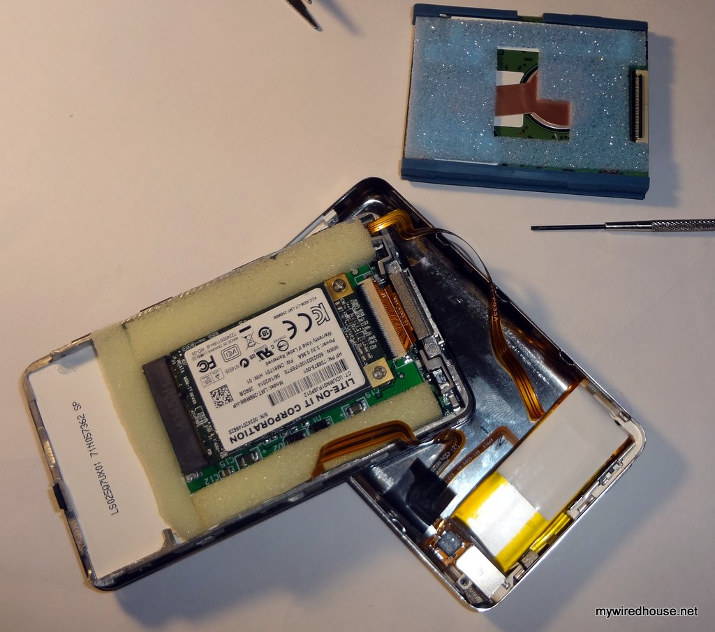 Ipod 5th Gen Ssd Upgrade My Wired House Printed Circuit Board Power Interface Replacement Kit Walmartcom Step 6 Reattach The Back Step6